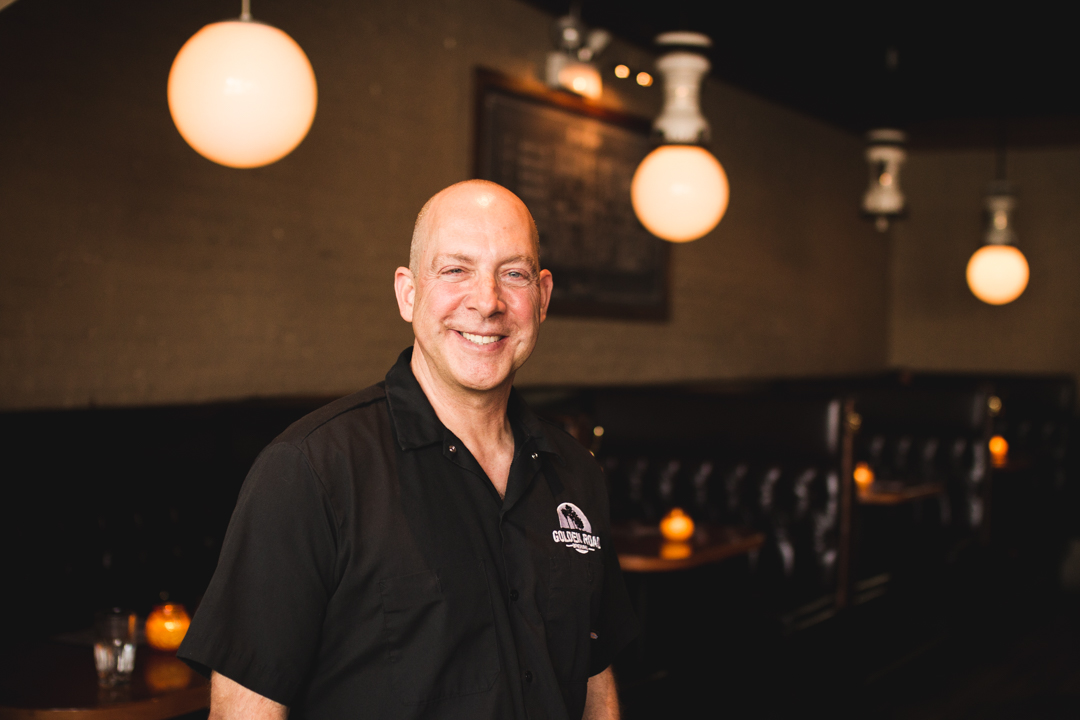 Victor Novak of Golden Road Brewing