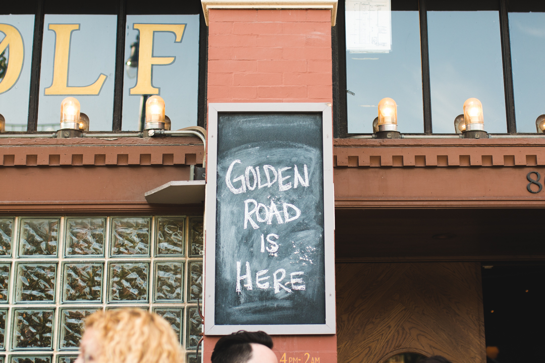 Golden Road at Lone Wolf in Chicago