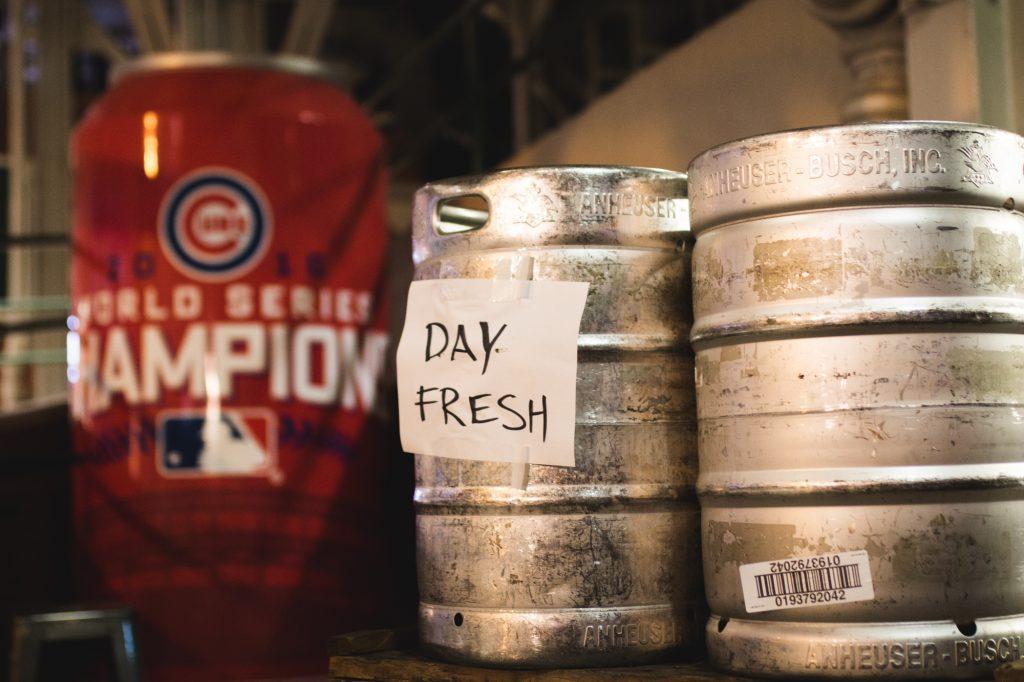 Brewery Fresh Budweiser