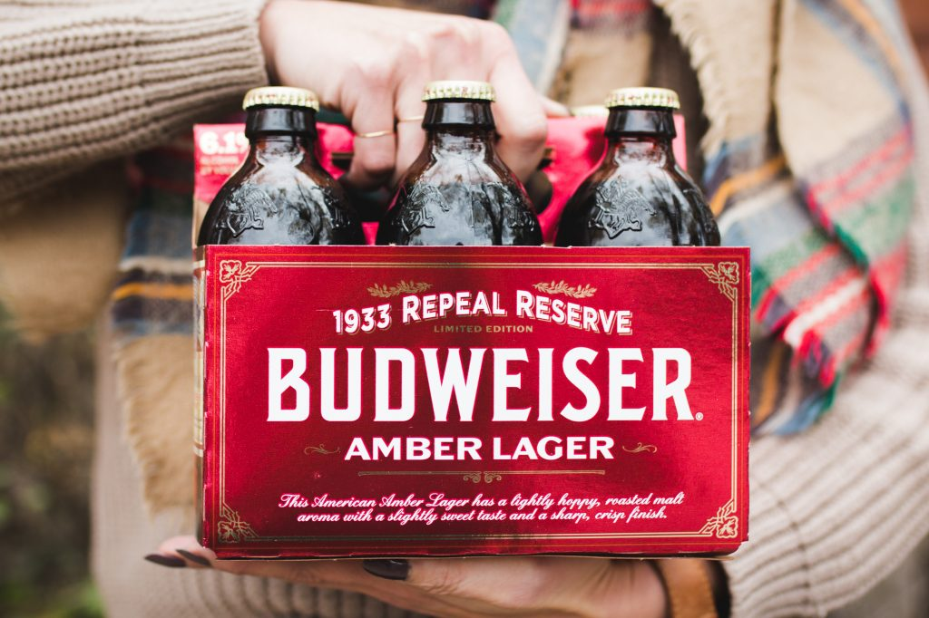 Budweiser Repeal Reserve Amber Lager