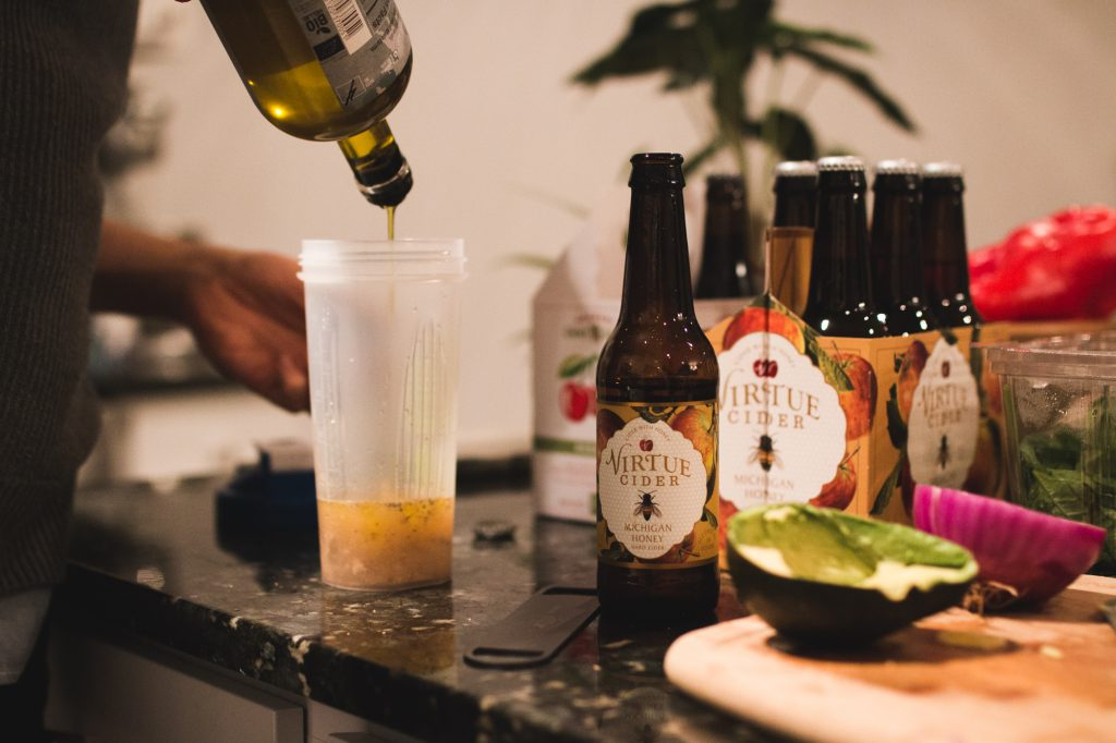 Honey Cider Dijon Dressing