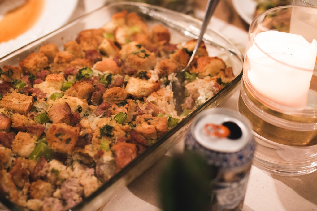 Beer Bread Stuffing