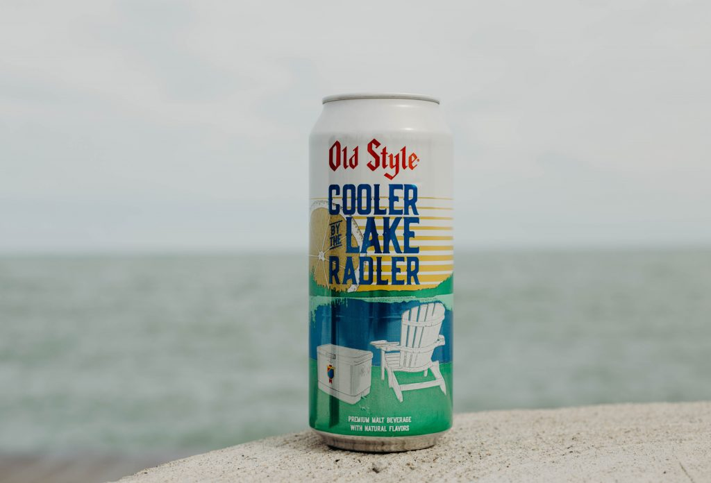 Old Style Cooler by the Lake