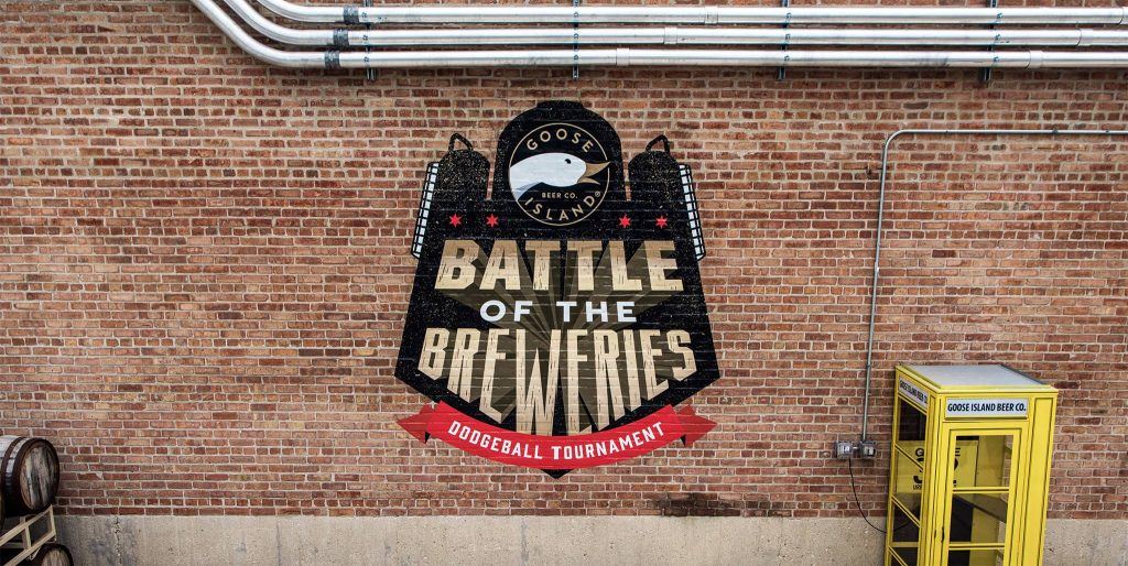Goose Island Battle of the Breweries Dodgeball Tournamet