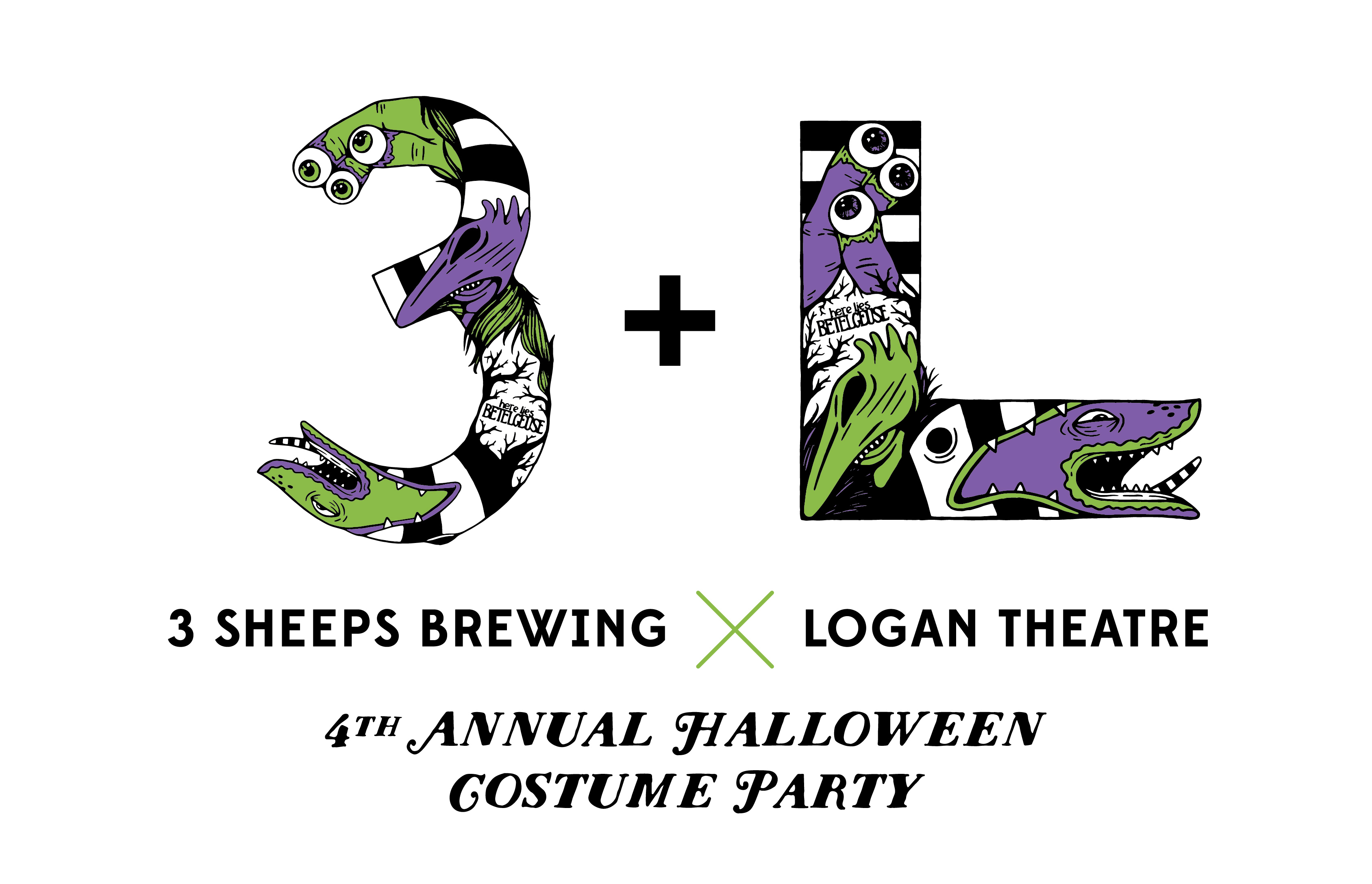 3 Sheeps Logan Theater Halloween