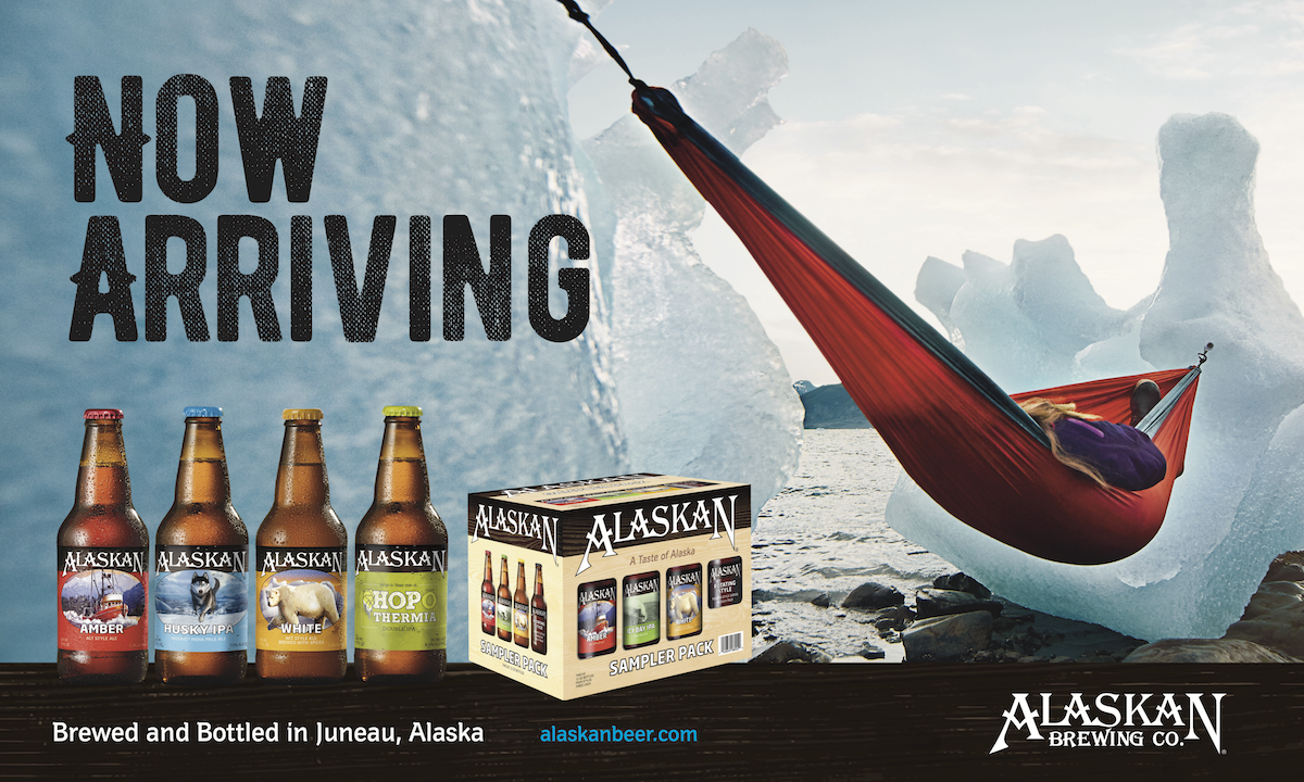 Alaskan Brewing Now Arriving
