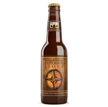 Bell's Bourbon Barrel Aged Expedition Stout
