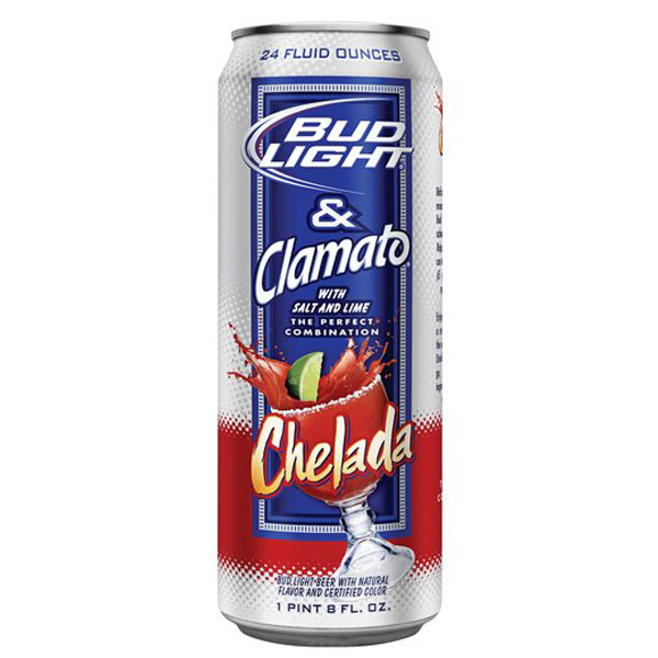 Bud Light & Clamato Chelada