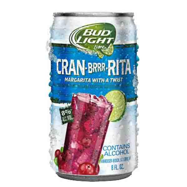 Bud Light Lime Cran Brrr Rita. Flavored Malt Beverage