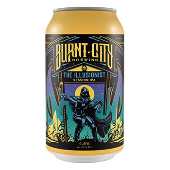 Burnt City The Illusionist Session IPA