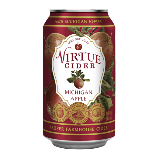 Virtue Cider Michigan Apple