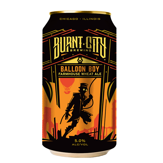 Burnt City Balloon Boy Wheat Ale