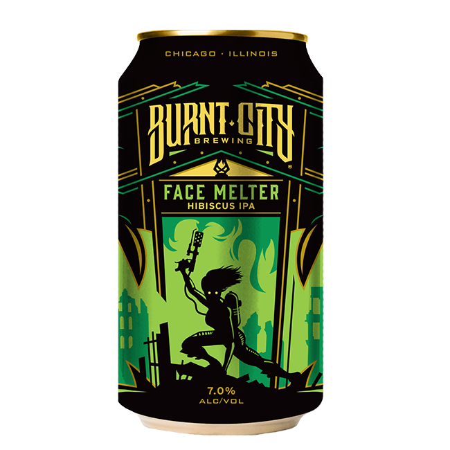 Burnt City Face Melter Hibiscus IPA
